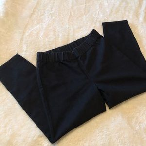 Soft Surroundings black elastic leggings!
